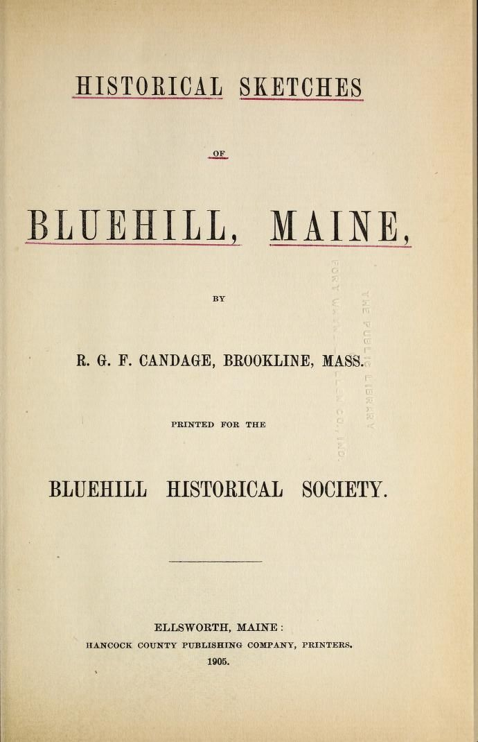 Gray Genealogy of Blue Hill, Maine - http://www.accessgenealogy.com/genealogy/gray-genealogy-blue-hill-maine.htm