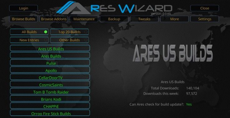 How to Install Ares Wizard Repository on Kodi
