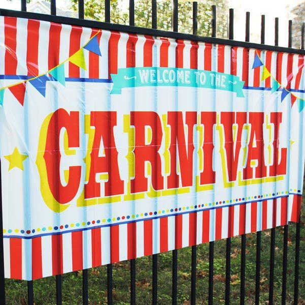 Carnival Savers - Carnival Sign Decoration Banner , $6.75 (http://www.carnivalsavers.com/carnival-sign-decoration-banner/)