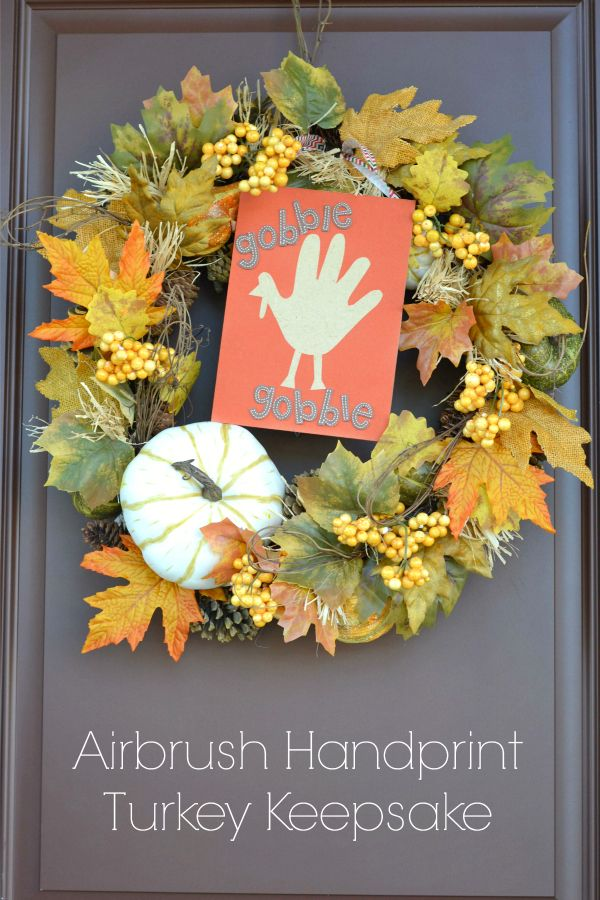 Bring on the fall decor! Not only is today's Airbrush Handprint Turkeydecorideasuper easy and an adorable piece to add to a front door wreath, it also makes for a great keepsake togift to the grandparents this holiday season! With just... Continue Reading →