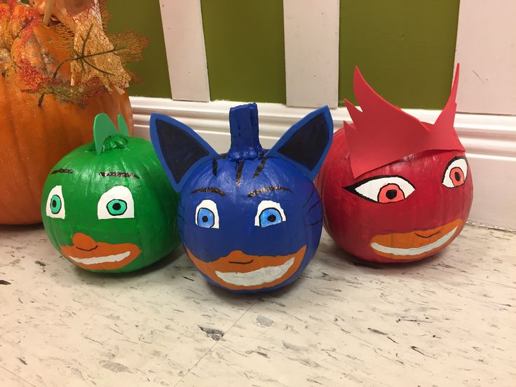PJ Masks Pumpkin