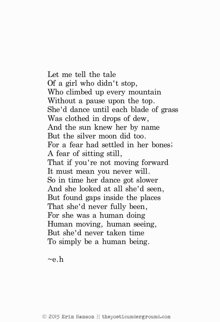 Link To Erin Hanson's Poetry (because Otherwise I'd Individually Pin Every  Single Thing