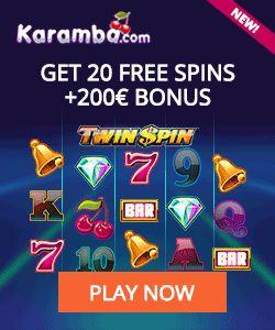 Free Spins Casino: Karamba Casino Netent – exclusive 20 free spins Tw...