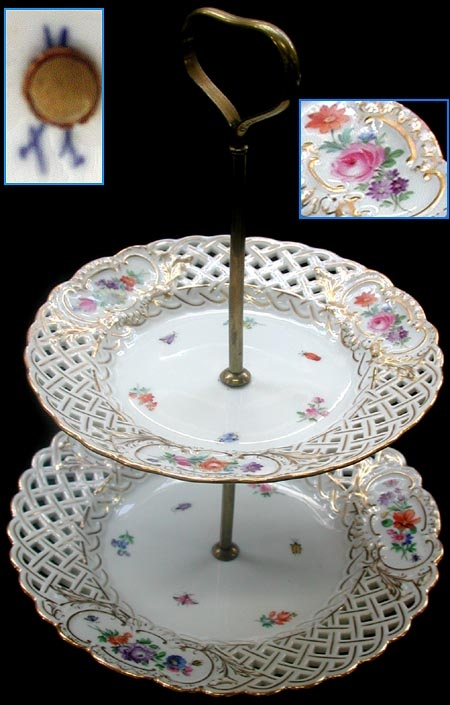 Two-Tier Serving Tray & 130 best DIY CAKE PLATE STANDS images on Pinterest | Dishes Cake ...