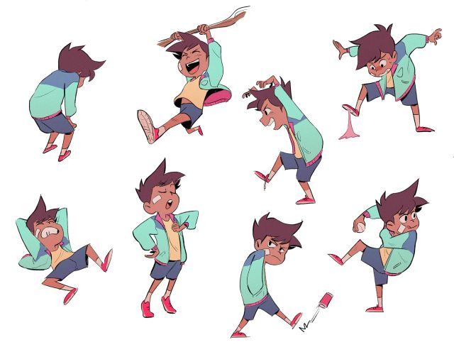 Cute Character Design Illustrator : The best boy cartoon characters ideas on pinterest