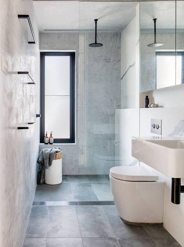 Modern Ombiaiinterijeri Small Bathroom Remodel Window In Shower Top Bathroom Design