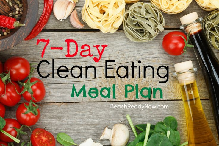 Clean Eating Meal Plan - Another week added!