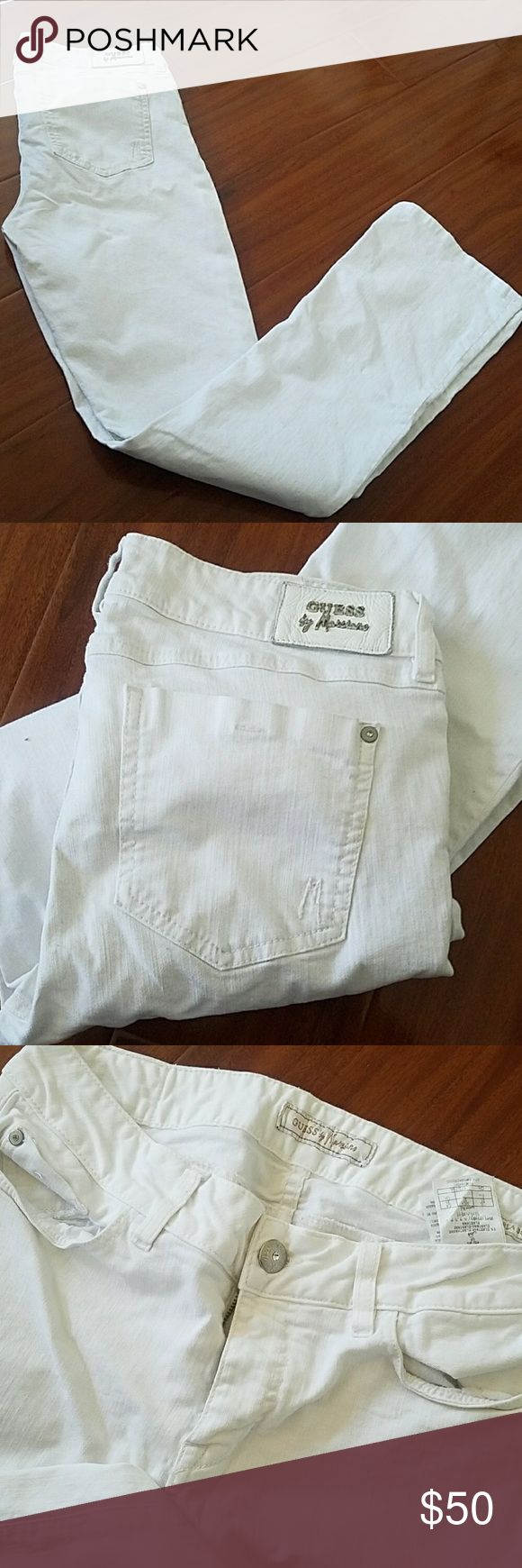 Guess Marciano Karla size 31 Guess by Marciano Karla Bootcut jeans size 31x33 very minor stain below pocket Guess by Marciano Jeans Boot Cut