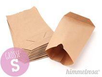24 Papiertüten braun - S