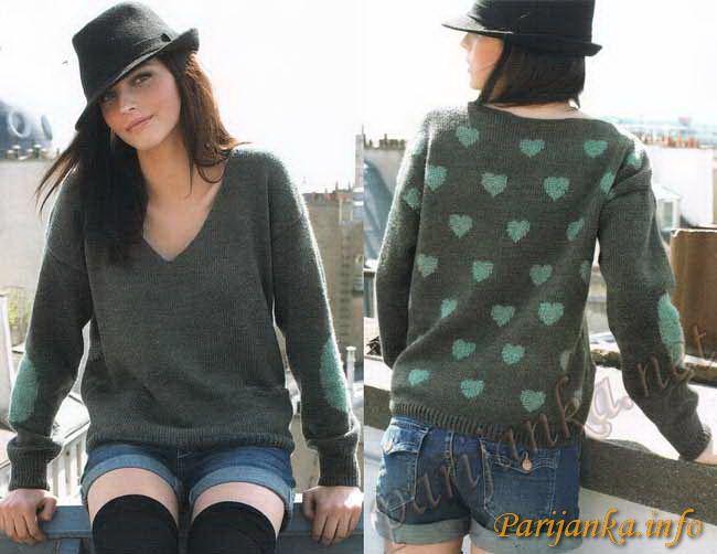 Пуловер кимоно (ж) 21*59 PHIL №2150