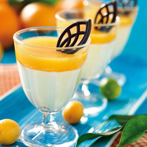 Recept på Apelsinpannacotta från - Hemmets Journal