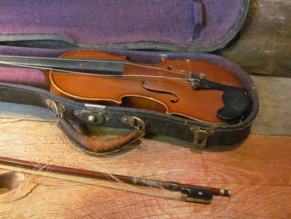 Antique Early 1900's Antonius Stradivarius by ShortPantsVintage