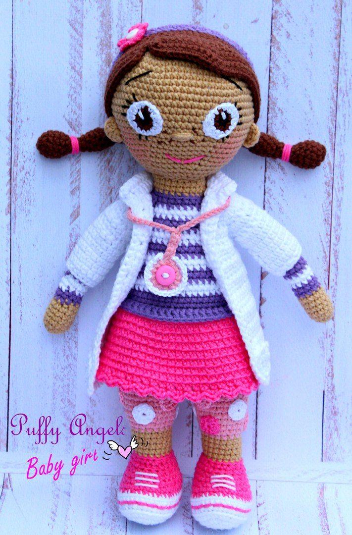 Doctora juguetes crochet