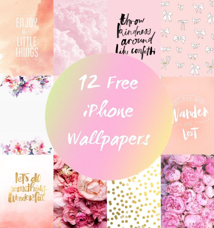 12 Free iPhone Wallpapers!!! | xoxolovedee