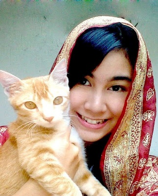 Anisa Rahma Cherry Belle cantik.