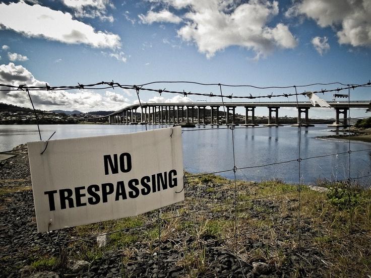 The Tasman Bridge.