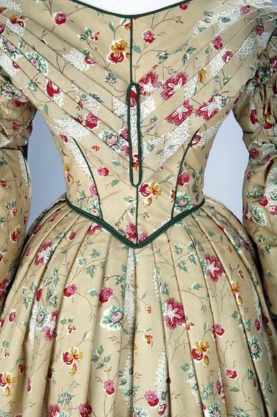 day dress 1836-40