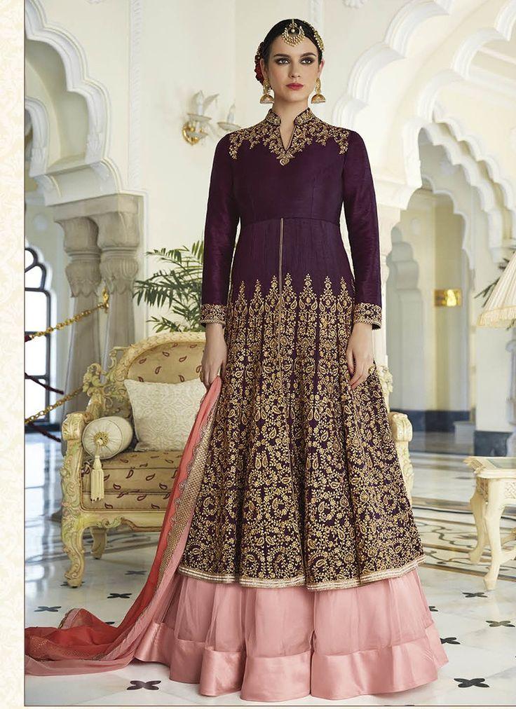 Purple Heavy Embroidered Designer Anarkali Suit  https://www.ranafashions.in/salwar-suits/purple-heavy-embroidered-designer-anarkali-suit-4683.html