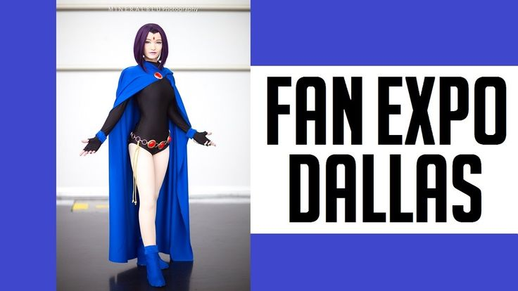 THIS IS FAN EXPO DALLAS 2017 COSPLAY MUSIC VIDEO DJI OSMO CANON G7X VLOG
