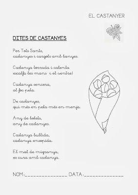 Fent i desfent: DITES DE LA CASTANYA