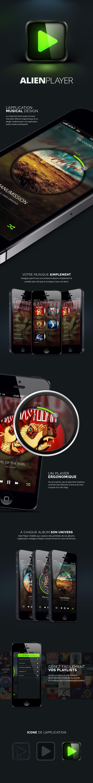 ALIEN PLAYER - App iPhone By Studio Creative Park www.creativepark.fr