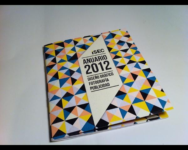 Anuario 2012 ISEC by Paula Alonso Ishihara, via Behance
