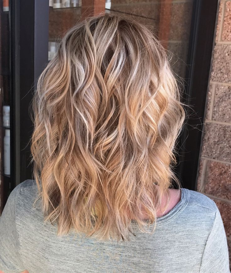 White Blonde Highlights With Caramel Undertones In 2019