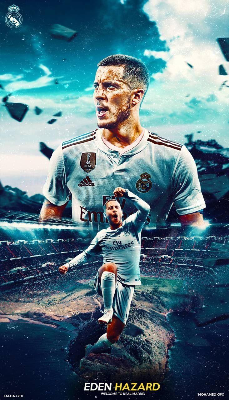 Real Madrid Wallpaper Hd 2019 Hd Football In 2020 Real Madrid Wallpapers Eden Hazard Wallpapers Hazard Real Madrid