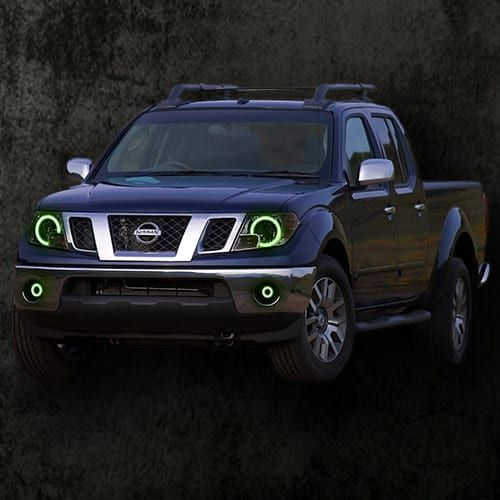 2009-2016 Nissan Frontier ColorMorph Halo Headlight Kit by LED Concepts Lighting