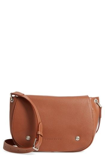 How you can find Longchamp Small Le Foulonne Leather Saddle Bag ... 706e0eced1e82