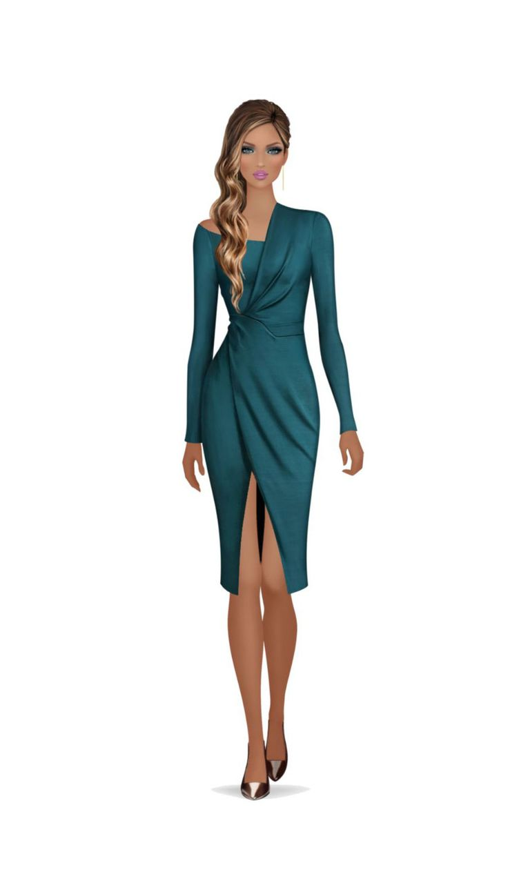 Covet Avatars in the Yigal Azrouël Fall 2015 collection.