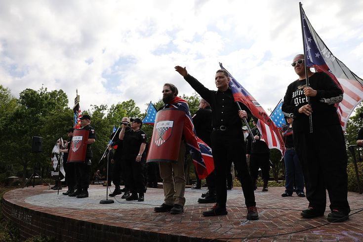Neo-Nazi Rally Draws About Two Dozen People and Upends a Small Georgia City