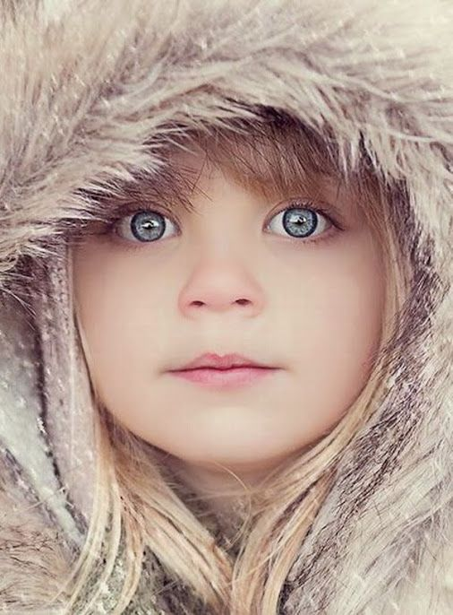 Beauty of Life ... Young girl with blue eyes