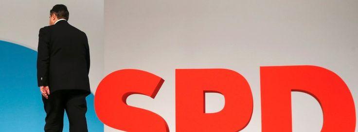 SPD-Parteitag  Mieses Ergebnis für Parteichef Gabriel -  Klatsche für SPD-Chef Gabriel: Das Misstrauensvotum http://www.spiegel.de/politik/deutschland/spd-parteitag-mieses-ergebnis-fuer-parteichef-gabriel-a-1067437.html#ref=rss