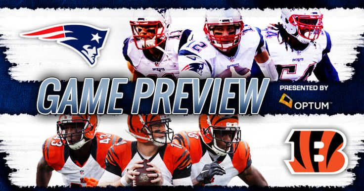 The New England Patriots return to the confines of Gillette stadium to host the Cincinnati Bengals.