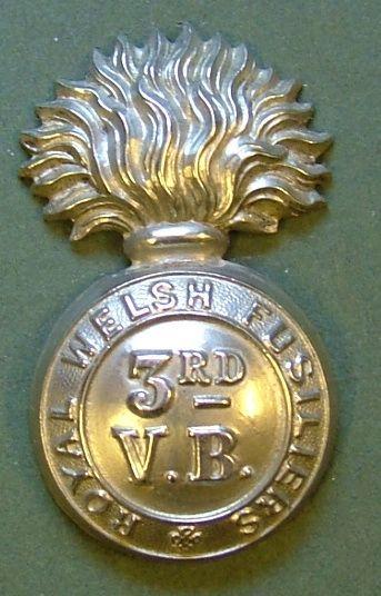 3rd Volunteer Battalion RWF in White Metal.