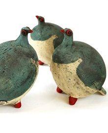 """Plump Kereru""  Unique Ceramic Sculpture at Moko Artspace New Zealand"