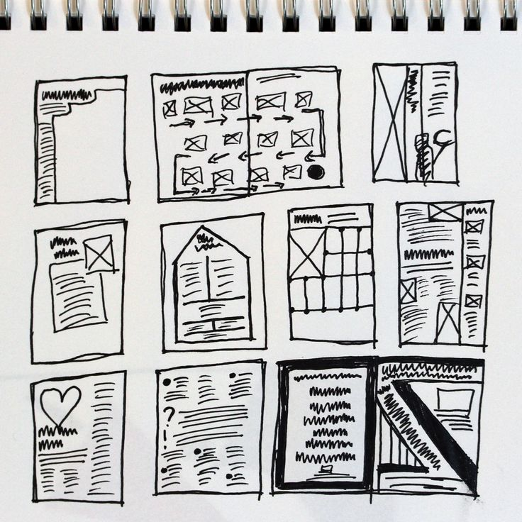 8 best Thumbnail Sketches for Layout images on Pinterest