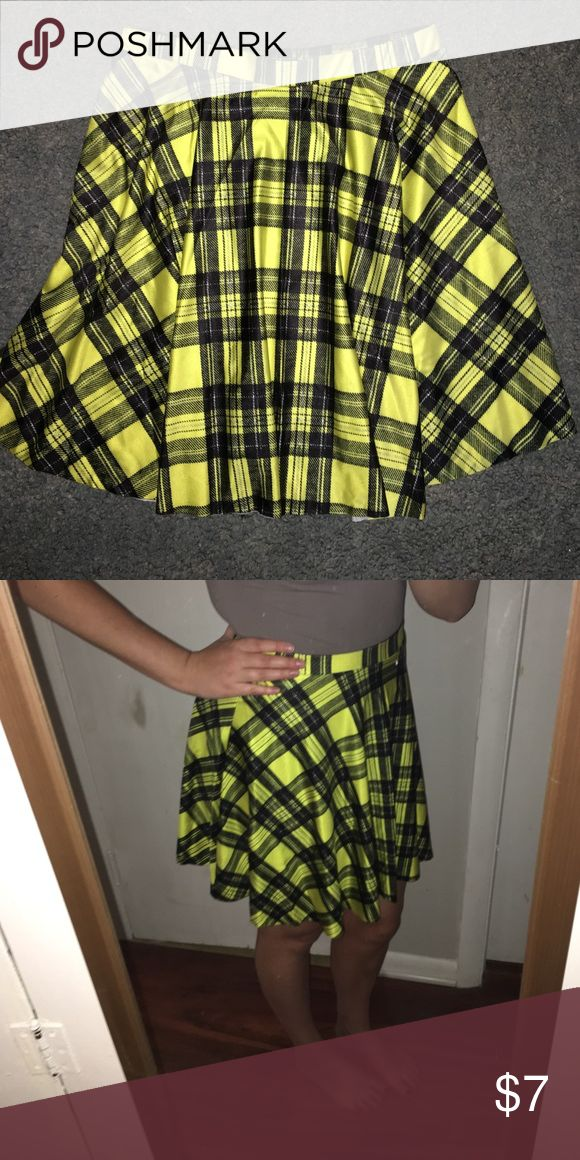 "Selling this Yellow Plaid ""Cher from Clueless"" Skirt on Poshmark! My username is: jeckhoff8. #shopmycloset #poshmark #fashion #shopping #style #forsale #Dresses & Skirts"