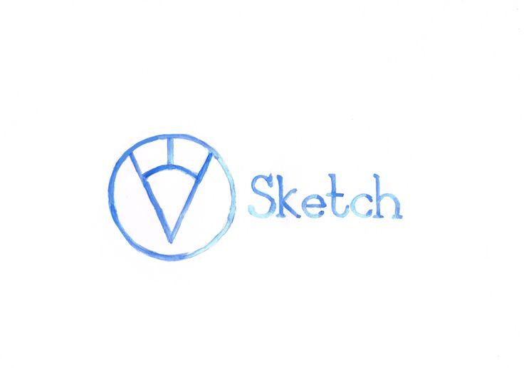 @homedrawn interprets the Sketch logo inher delicate distinctive style