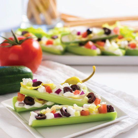 Greek Celery Snack