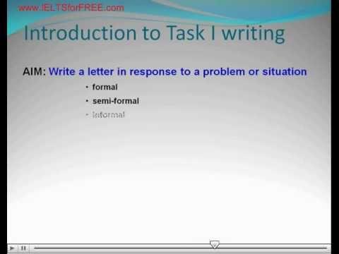 Task 1 the basics (General Training) - http://ieltsforfree.com/task-1-basics-general-training/
