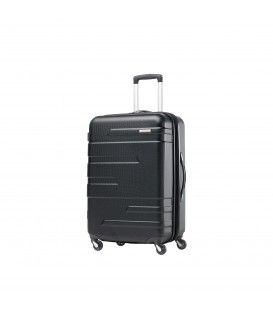 Samsonite - Stratford - Valise 21.5'' rigide format cabine 4 roues - Noire