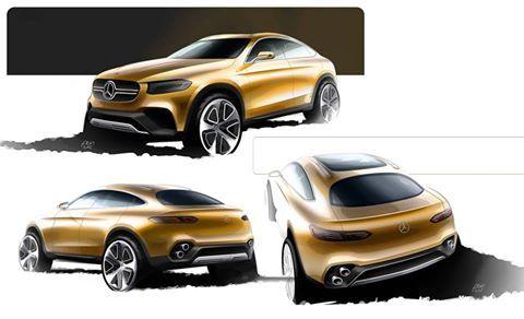 OFFICIAL: Mercedes-Benz GLC Coupe Concept