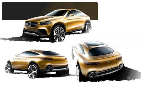 OFFICIAL: Mercedes-Benz GLC Coupe Concept