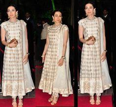 Fashion: Celebrities in Indian Designer Anarkali Salwar Suits 2014