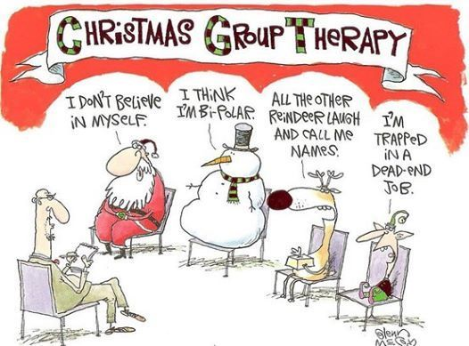 #christmas #group #therapy #funny #letterfromsanta www.fatherchristmasletters.co.uk