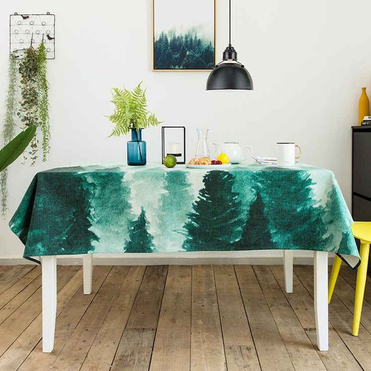 Cloud Forest Indoor / Outdoor Tablecloth