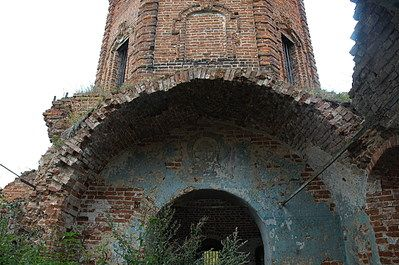 Заброшенные церкви. Село Свиридово, Веневского уезда, Тульской губернии.