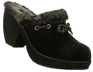 Skechers Ladies Disco Bunny Boogie Down Suede Clog